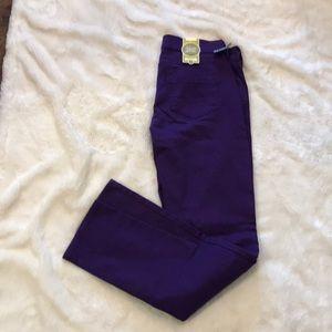 Old Navy sweetheart skinny stretch jean 6 purple